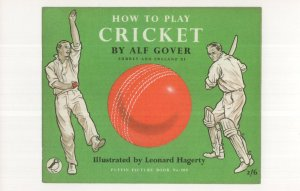 How To Play Cricket Leonard Hagerty 1957 Puffin Book Postcard