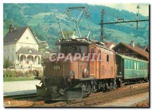 Old Postcard Tram Ge 6 6 1 404 Trun