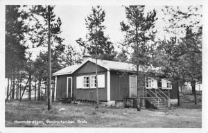 Orsas Sweden Vandrarhemmet Real Photo Antique Postcard J45498