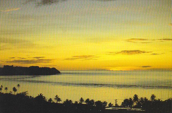 Sunset On Tumon Bay Guam