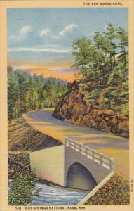 The New Gorge Road Hot Springs National Park Arkansas 1949