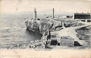 Gibraltar Strait of Gibraltar, lighthouse phare