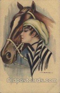 Series no. 257-6 Artist Signed Giovanni Nanni (Italy) writing on back light i...