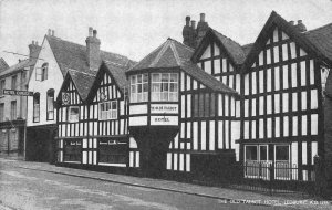 The Old Talbot Hotel Ledbury Postcard