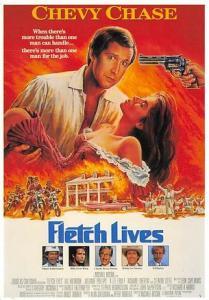 Fletch Lives Movie Poster Postcard