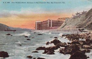 SAN FRANCISCO, California, 1913; Fort Winfield Scott, Entrance to San Francis...