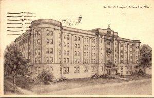 Wisconsin Milwaukee St Mary's Hospital 1938
