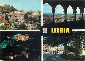 Portugal Postcard Leiria various aspects and sights