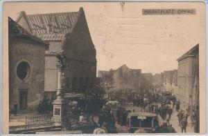 POLAND -  Vintage Postcard archiwalne pocztówki - Opawa - Oppau  1921