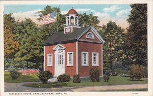 Old State House Farquhar Park York Pennsylvania 1930