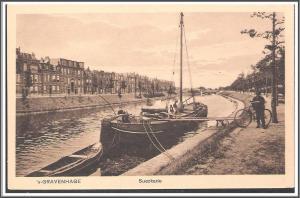 Netherlands S-Gravenhage Suezkade Postcard