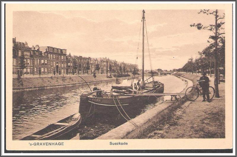 Netherlands - S-Gravenhage Suezkade - [FG-151]