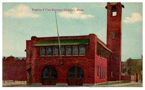 Massachusetts  Chelsea  , Engine 5 Fire Station