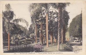 Monaco Monte Carlo Vue prise dans les Jardins