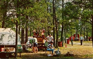 Michigan Rapid River Pines Camping Grounds