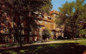 Columbia Missouri~Stephens College~Roblee Hall~1960s Postcard