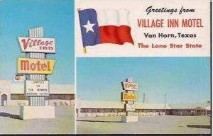 TX Van Horn Village Inn Motel