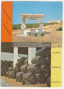 Williams & Humbert, Ltd, DRY SACK, Sherry, Jerez, Spain, 60-70s