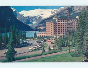 Pre-1980 TOWN VIEW SCENE Banff Alberta AB p9674