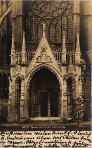 CPA Metz - Neues Portal der Kathedrale (393223)