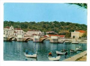 Tavira-Algarve, Portugal, 50-60s   Ponte sobre o rio Gilao