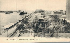 Egypt Port Said General view town and Canal 05.05