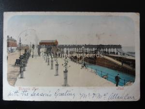 Yorkshire HULL Victory Pier c1903 UB by Colley, Stationers of Hull 5140