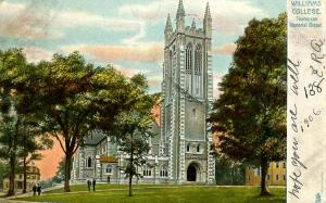 MA - Williamstown. Williams College, Thompson Memorial Chapel