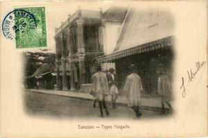 CPA TAMATAVE Types Malgache MADAGASCAR (709640)
