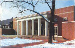 Center Hall Completed 1954 at Wabash College Crawfordsville, Indiana, IN, Chrome
