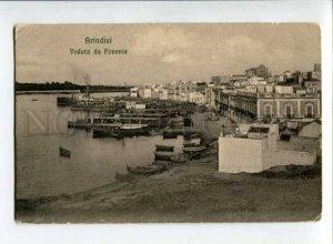 299681 ITALY BRINDISI Veduta da Punente Vintage postcard