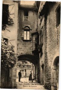 CPA  Le Lot Pitt...-Figeac - Rue Maileville -Recette des Finances    (223903)