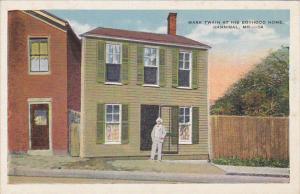 Missouri Hannibal Mark Twain At His Boyhood Home