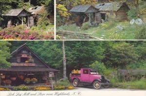 North Carolina Highlands Lick Log Mill and Store