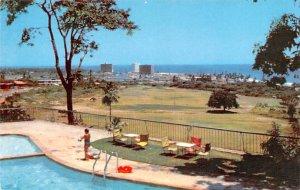 Venezuela Old Vintage Antique Post Card Caraballeda Golf Club Laguna Beach, E...
