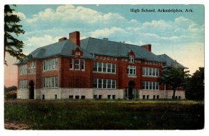 Arkansas Arkadelphia High School Postcard #75031