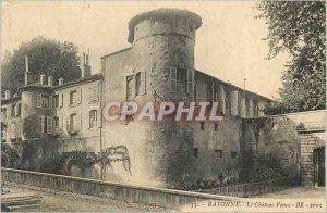 Postcard Old Bayonne Le Vieux Chateau