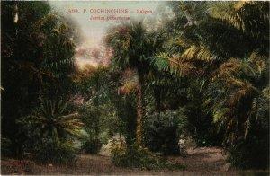 CPA AK INDOCHINA Saigon Jardin Botanique VIETNAM (956649)