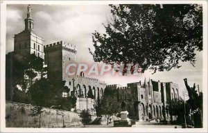 Postcard Modern Avignon (Vaucluse) The Popes' Palace