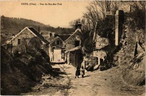 CPA CREIL Rue du Bas-des-Tufs (376987)