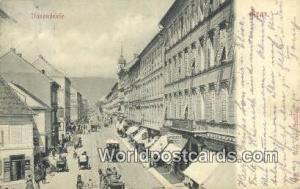 Graz Germany, Deutschland Postcard Unnenftrafe Graz Unnenftrafe