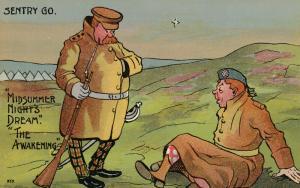 UK Comic Military; 1900-10s ; Sentry GO. Midsummer Night's Dream