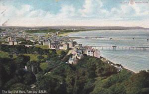 The Bay & Piers , Ramsey , I.O.M., 00-10s