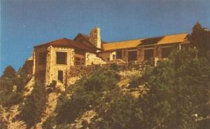 Grand Canyon Lodge at Bright Angel Point, Arizona old unu...
