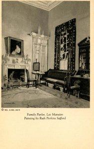 VA - Arlington. The Curtis Lee Mansion. Family Parlor. Artist: Ruth Perkins S...