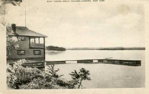 NY - Aurora, Wells College Boat House