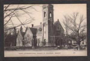 VT North Congregational Church ST JOHNSBURY VERMONT PC