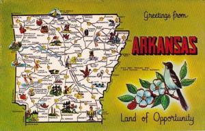 Greetings From Arkansas Land Of Opportunity Arkansas