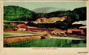 Treadwell Gold Mines AK Alaska 1906 Postcard