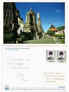 CPM THAILAND-Bangkok-The Pagoda in Temple of Dawn (335209)